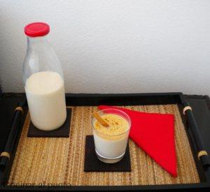 receta leche con canela y limon