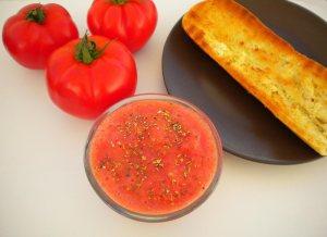 desayuno tostadas tomate