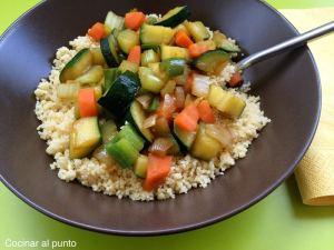 receta cuscus con verduras
